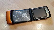 Motorola RAZR V3  Orange / foliert / ohne Simlock / Klapphandy *WIE NEU*