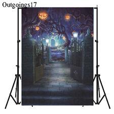 Halloween Vinyl Backdrop Photography Prop Studio Photo Background 5x7ft