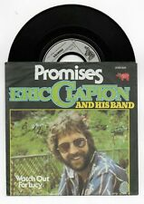 ERIC CLAPTON PROMISES ORIGINAL SINGLE FROM GERMANY +PIC COVER, MINT