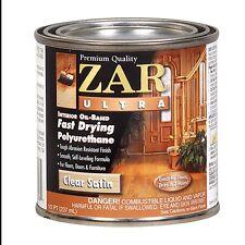 ZAR® Ultra Interior Oil-Based Polyurethane, Satin, Half-Pint