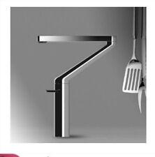 Modern Chrome Brass Bathroom Basin Faucet Swivel Spout Kitchen Sink Mixer Tap