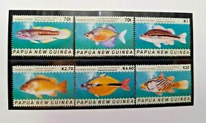 Papua New Guinea 2004 Freshwater Fish Wildlife Set MNH IN Pack (pap 66)