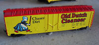 Vintage HO Scale Tyco Old Dutch Cleanser Advertising Box Car