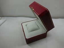 Cartier watch box case COWA 0043 Color red GENUINE V6612143322 Free Shipping