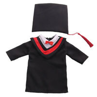 MagiDeal 18inch Doll Handmade Graduation Cap and Gown for AG American Dolls
