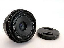 Rare Porst couleur-Reflex MC 40mm F2.5 pancake lentille dans Pentax pk mount