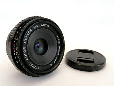 Raro Color Porst-Reflex Mc 40mm F2.5 lente de Pentax PK Montaje Panqueque en