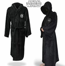 Star Wars Hooded Bath Robe Imperial Jedi Sith Adult Fleece Bathrobe Cloak Cape