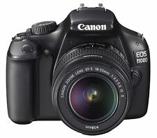 Canon EOS 1100D SLR-Digitalkamera Kit inkl. EF-S 18-55mm 1:3,5-5,6 IS II + Blitz