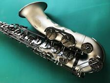2017 Professional Newest Tenor Saxophone Satin Nickel SAX With Case Accessories