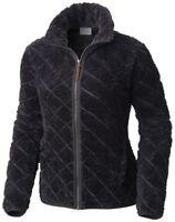 COLUMBIA Fire Side AL1715011 Warm Full Zip Faux Fur Fleece Jacket Womens New