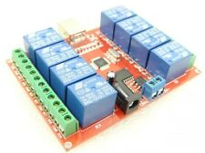 Free drive /  8- channel 12V usb Relay Module / Computer control switch