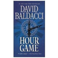 King & Maxwell: Hour Game 2 by David Baldacci (2013, Paperback)