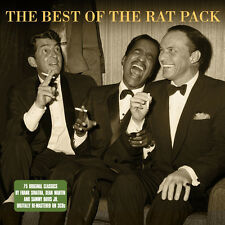 The Rat Pack BEST OF Frank Sinatra Dean Martin Sammy Davis Jr 75 SONGS New 3 CD