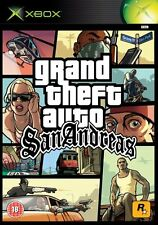 GTA GRAND THEFT AUTO SAN ANDREAS    XBOX