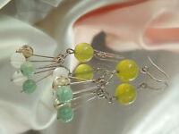 X Cute Vintage Glass Bead Dangle Earrings  3015jl