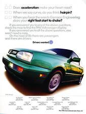 1996 VW Volkswagen GTI VR6 green - Classic Car Advertisement Print Ad J72