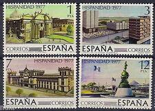 Spain  Edifil # 2439/2442 ** MNH Set  Hispanidad Guatemala