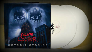 ALICE COOPER Detroit Stories - 2LP / White Vinyl - Limited Edition