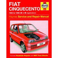 Fiat Cinquecento 1993 - 1998 Haynes Manual 3501 NEW