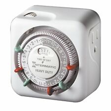Intermatic TN311 15 Amp Heavy Duty Grounded Timer, New, Free Shipping