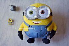 "Minions Universal Studios Exclusive 10"" Plush Bob Stuffed Toy Despicable Me *NEW"
