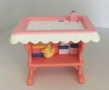 FISHER PRICE LOVING FAMILY PINK BABY NURSERY CHANGING TABLE   #19760