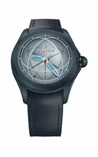Corum Bubble 47 Automatic Blue Mens Watch Limited Edition 082.312.98/0063 OP02 R