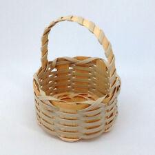 Small Basket handle round 6 x3.5/7.5cm handmade Wedding Favour Gift Storage box