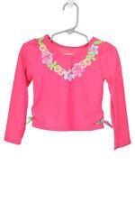 WonderKids Girls Swimwear Rashguards 3T Pink Polyester