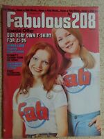 Fabulous 208 Magazine.  25th.May 1974...VINTAGE COLLECTABLE MUSIC MAGAZINE.