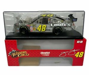 JIMMIE JOHNSON 2008 Winners Circle 1:24 Scale Diecast Lowe's Edition #48 NASCAR