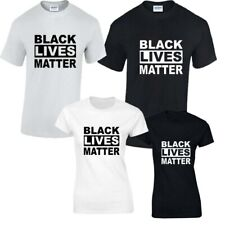 Negro Vive Matter Camisetas Hombre Mujer Anti Racismo Protest Anti Violencia Top