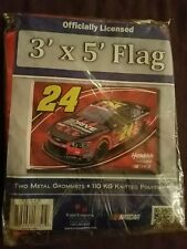 Jeff Gordon Official Nascar Drive to end hunger Large 3x5 Foot Flagpole Flag New