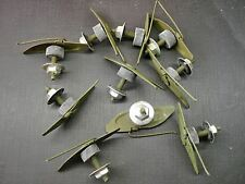 "10 pcs clip & nut both with sealer for 1-1/4"" to 1-1/2"" wide moulding GM GMC NOS"