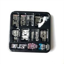 11Pcs Presser Foot Feet for Brother Singer Sewing Machine Accessory Tool Kit Sew