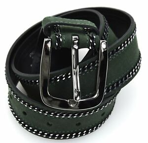 BERGÉ WOMAN BELT GENUINE LEATHER BERGE MADE IN ITALY CODE 8112/374