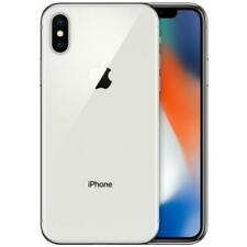 Apple iPhone X - 64GB - Silver - GSM Unlocked - Smartphone