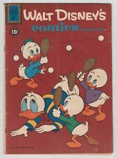 Walt Disney's Comics and Stories #247 CARL BARKS, DONALD DUCK Dell 1961 Good  r