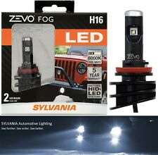 Sylvania ZEVO LED Kit 6000K White H11 Two Bulbs Fog Light Plug Play Lamp Upgrade