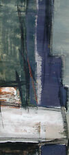 Heinz-Otto Müller-Erbach 1921-1984 HOM / Tempera / abstrakte Komposition 1962