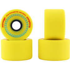 Orangatang Moronga 72.5mm (86a) Yellow Longboard Wheels Set of 4