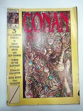Conan Saga Magazine Yellow Cover 1987