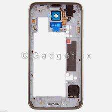 Samsung Galaxy S5 G900H G900M G9001 Back Housing Middle Frame Bezel Camera Lens
