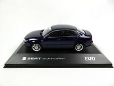 Seat Exeo Sedan Ada Blue 1:43 - Fischer Diecast Dealer Model Car SE24