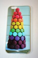 NEW iPhone 5/5s Cell Phone Case Cover Rainbow COOKIE Stack Graphic Print