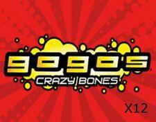 GoGo's Crazy Bones - 12 RANDOM FIGURES / GOGO'S - 12 PIECE LOT