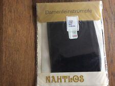 dcaaeb45eca00f 1x Nylonstrümpfe schwarz ~ Vintage ~ Gr.9 1/2 ~ 30 den ~