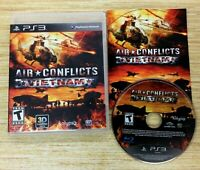 Air Conflicts Vietnam PLAYSTATION 3 PS3 CIB WORKS PERFECT KALYPSO SHIPS FAST