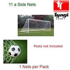 Football Net Full Size Adult Outside Game Goal Club Netting 24 Feet Replacement